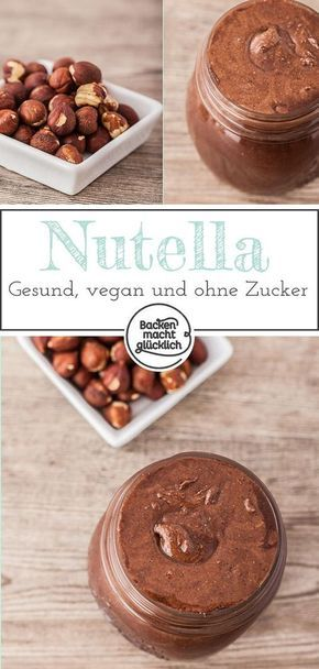Photo of Make healthy Nutella yourself Baking makes you happy
