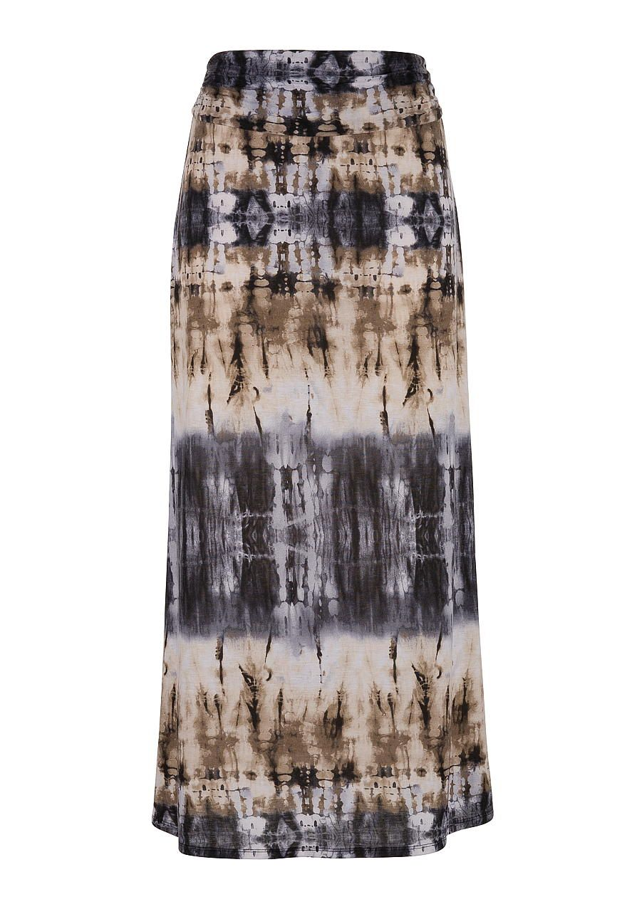 Neutral tie dye print maxi skirt - maurices.com | new arrivals ...