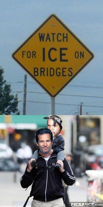 Ice on Bridges.... JamesA.Ziegler.com