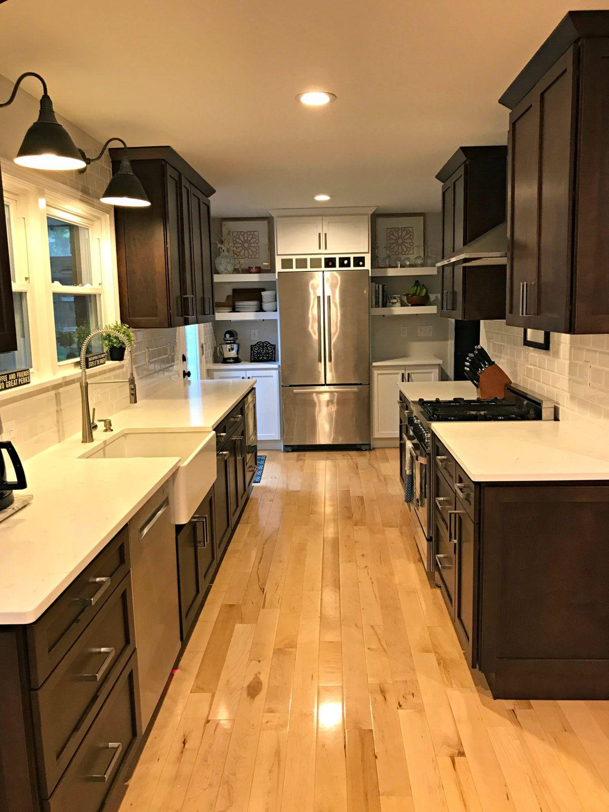 Galley Kitchen Renovation Galley Kitchens Kitchens And Kitchen - Remodeling a galley kitchen