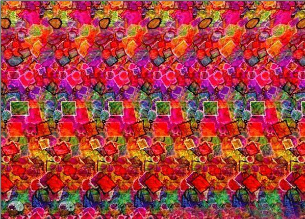 Hidden 3d Image Stereogram Heart Google Search Eye Illusions Magic Eye Pictures Hidden 3d Images