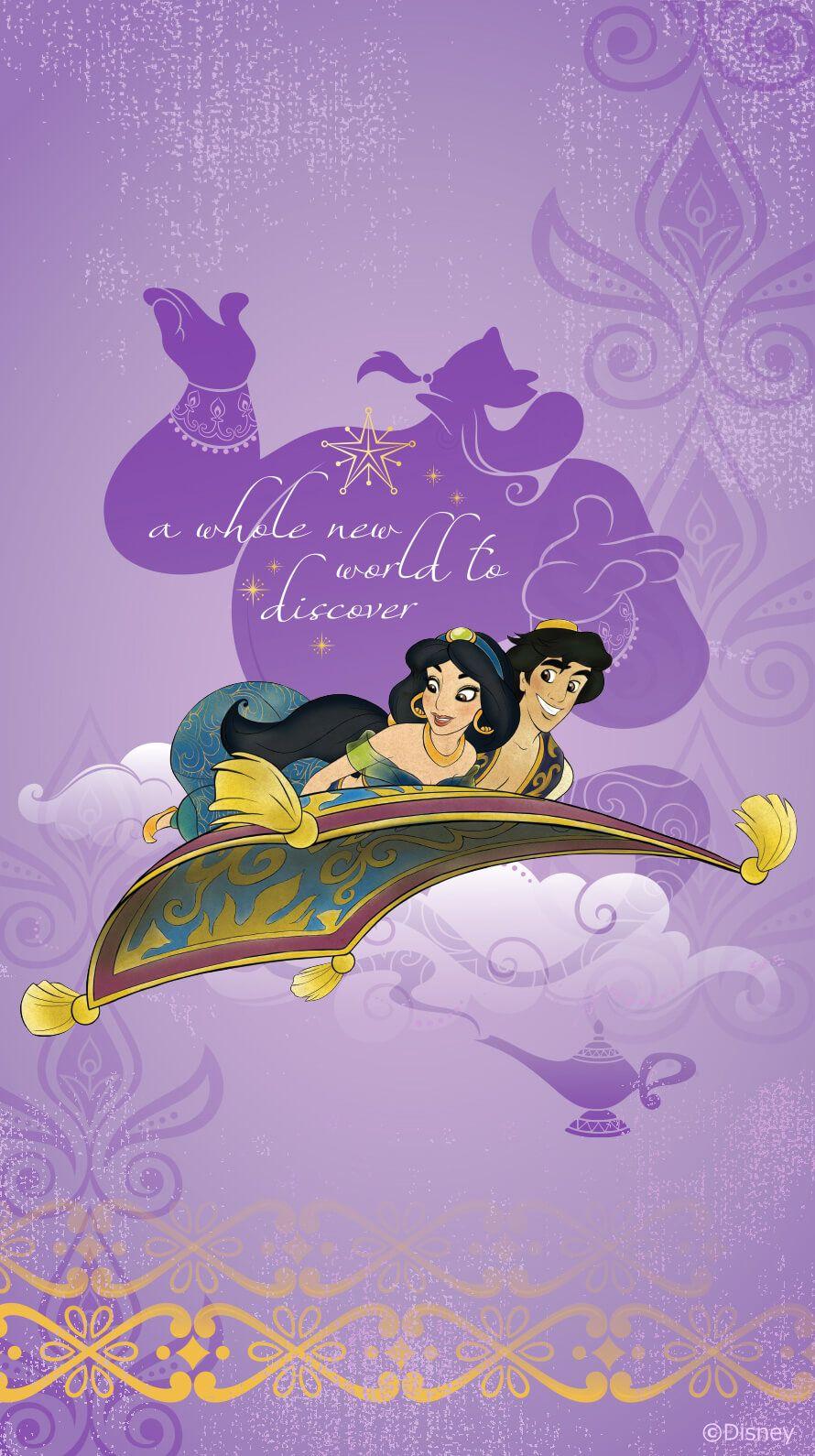 Aladdin おしゃれまとめの人気アイデア Pinterest Alessandra Calderon ディズニーの使える壁紙 ディズニープリンセス 壁紙
