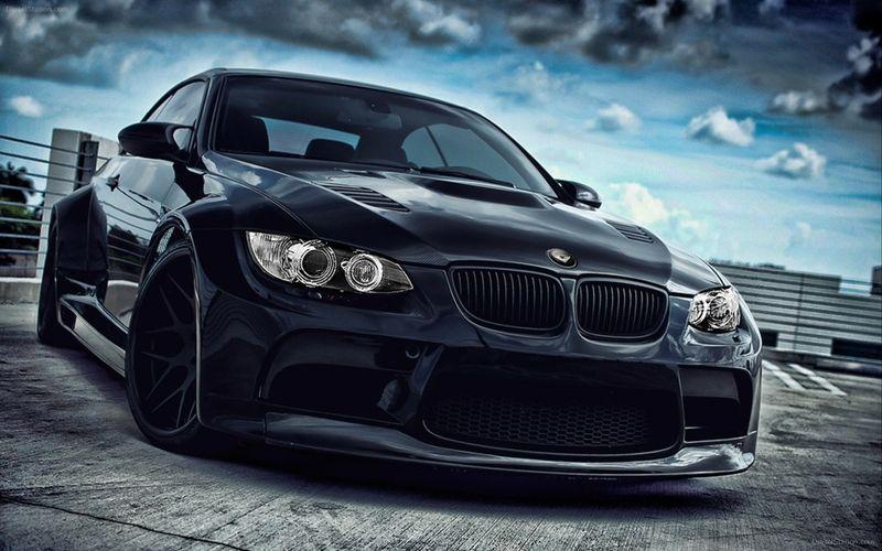 bmw black dark cars vehicles tuning wheels sport cars luxury sport cars m3 auto speed vorsteiner. Black Bedroom Furniture Sets. Home Design Ideas
