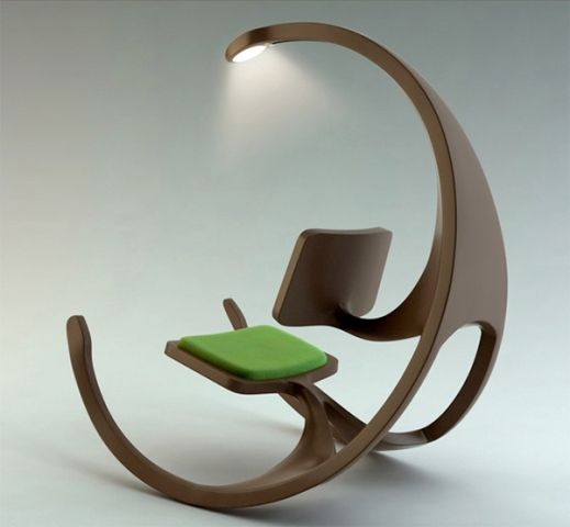 Remarkable Awesome Modern Rocking Reading Chair Unique Furniture Squirreltailoven Fun Painted Chair Ideas Images Squirreltailovenorg