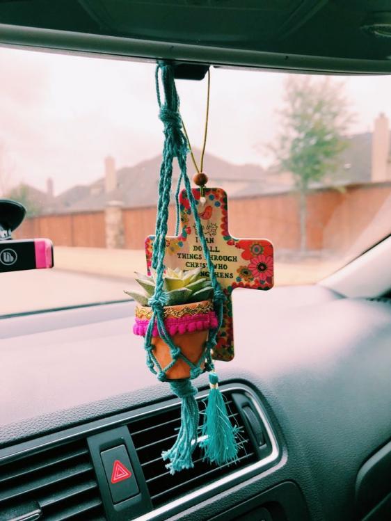Pin By Ashley Escoto On Car Stuff In 2020 Cute Car Accessories Car Accessories Car Rearview Mirror Accessories