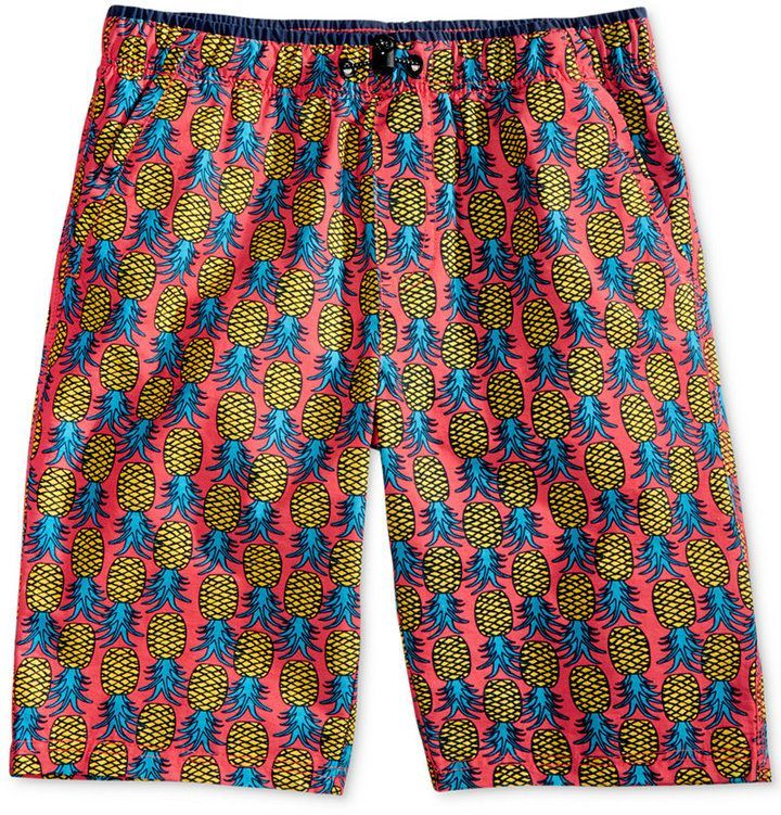 8294042913 Univibe Abaca Pineapple-Print Shorts, Big Boys (8-20) | Products ...