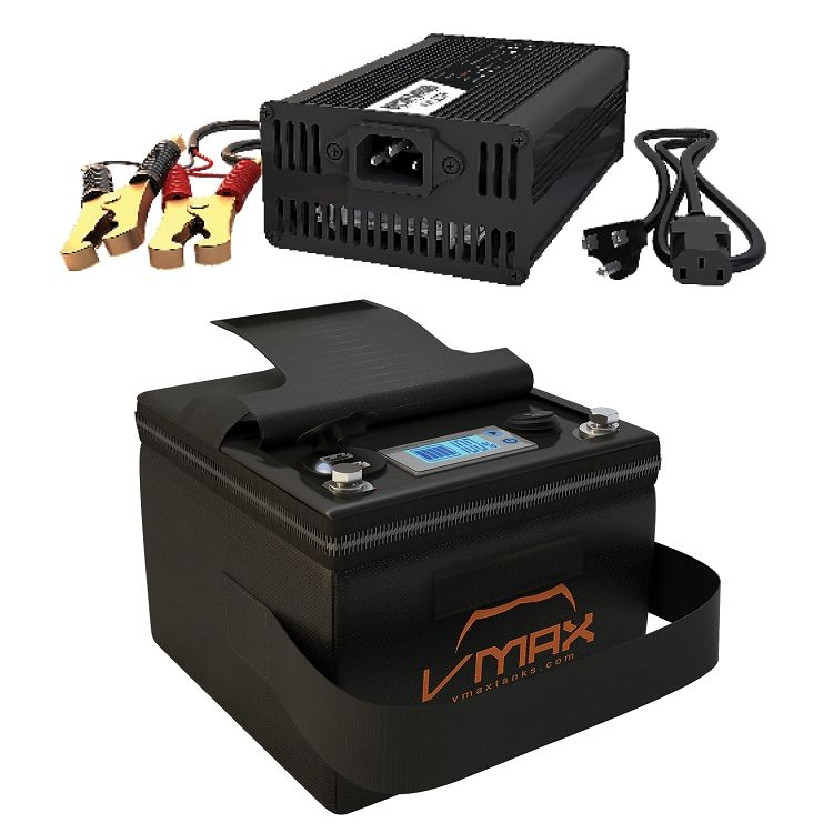 Vpg12c 35li Li Ion 35ah Deep Cycle Battery Power Generator W Charger Deep Cycle Battery Recondition Batteries Battery Charger