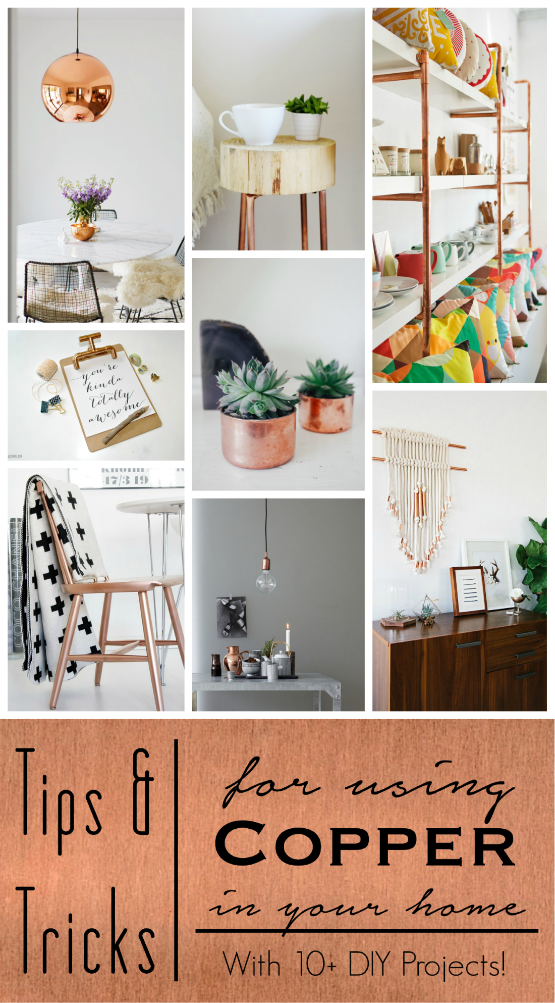 Current Trend Copper Dwell Beautiful Home Decor Home Diy Home Decor Tips