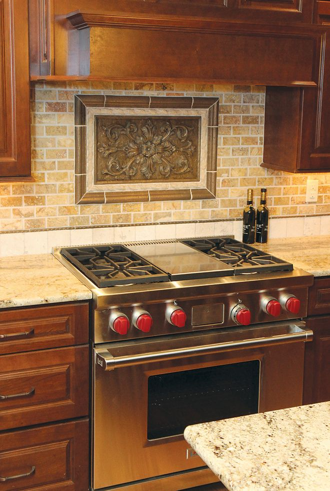 Backsplash Ideas For Sienna Beige Granite Google Search