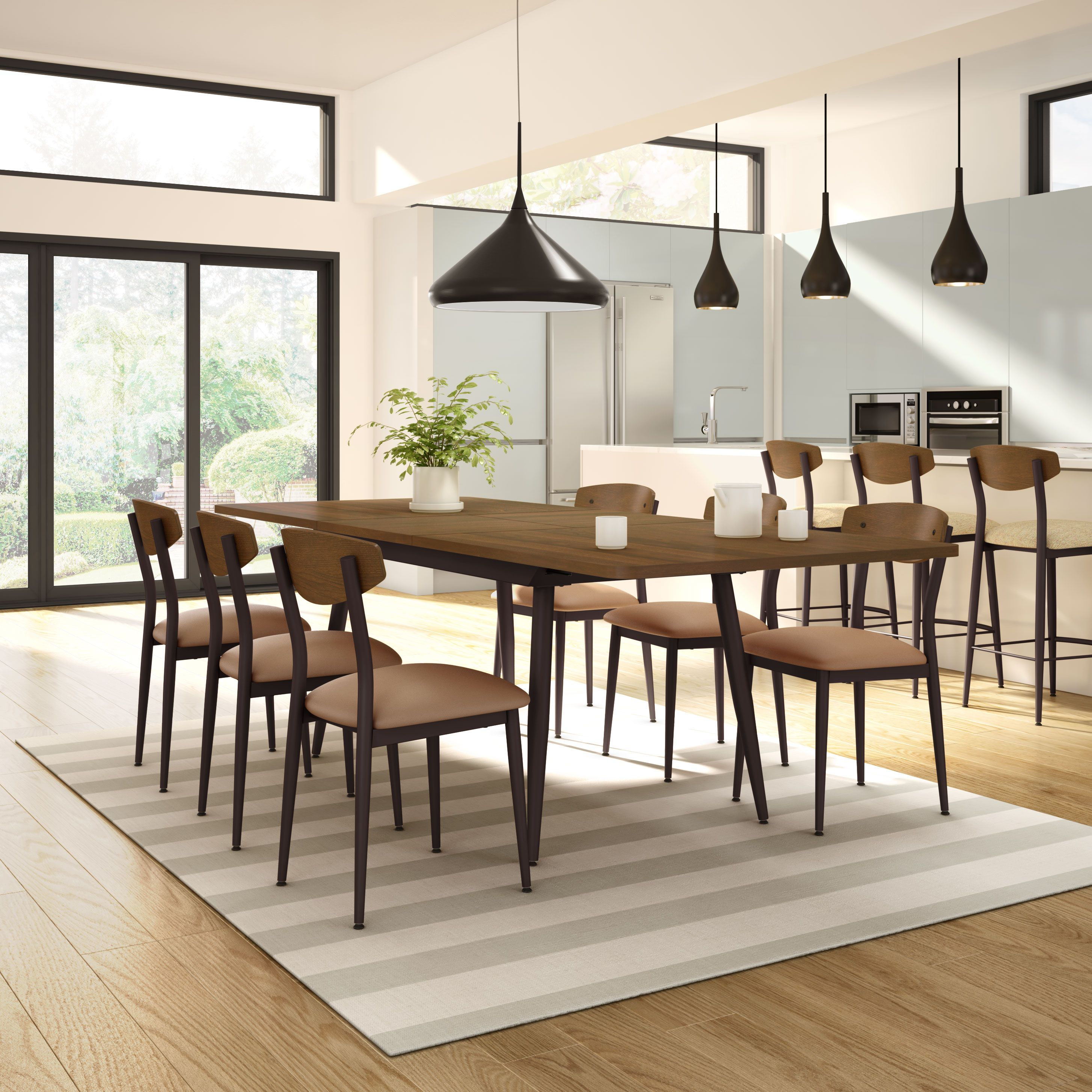 Amisco Richview Table 50531 Hint Chair 30202 Furniture Kitchen Nordic Collection Scandinave Chair
