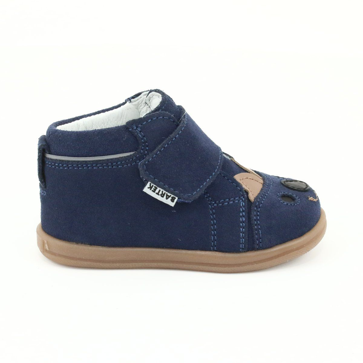Trzewiki Na Rzepy Panda Bartek 71150 Granatowe Boots Womens Boots Flat Globe Skate Shoes