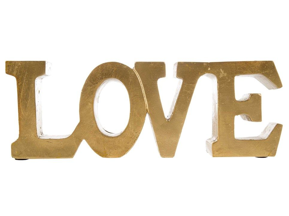 gold resin love word dream home pinterest lobbies and walls