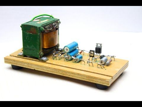 Simple power supply with adjustable voltage and current - YouTube