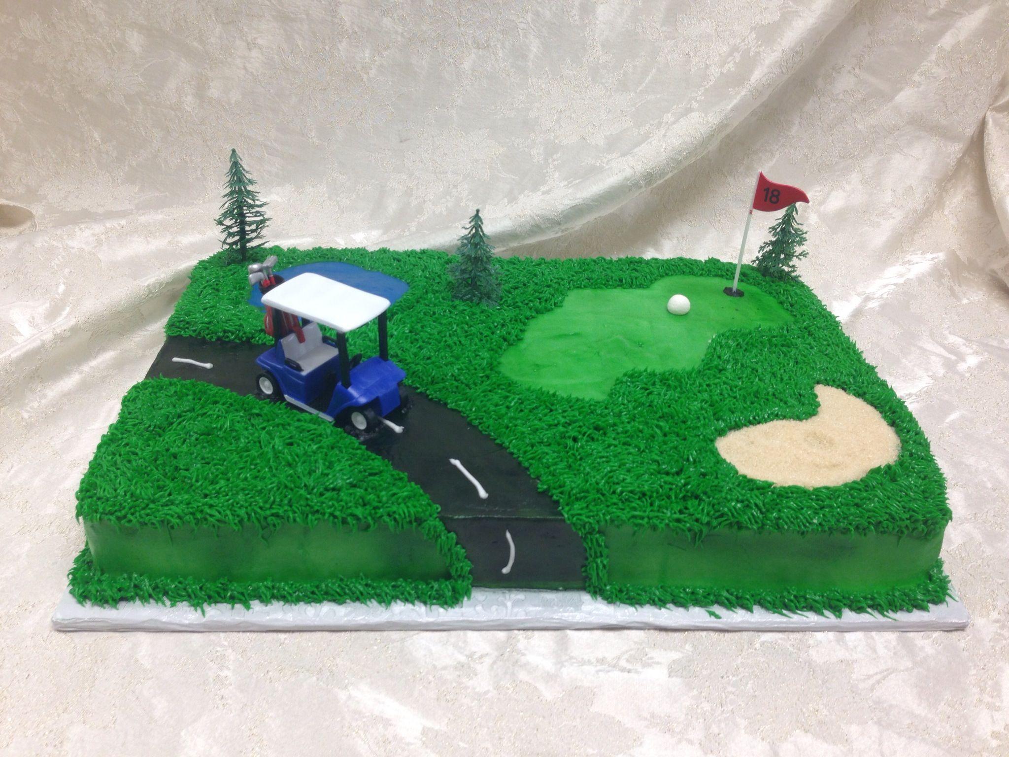 Golf Cake Cakes Pinterest Golf Cake And Birthdays