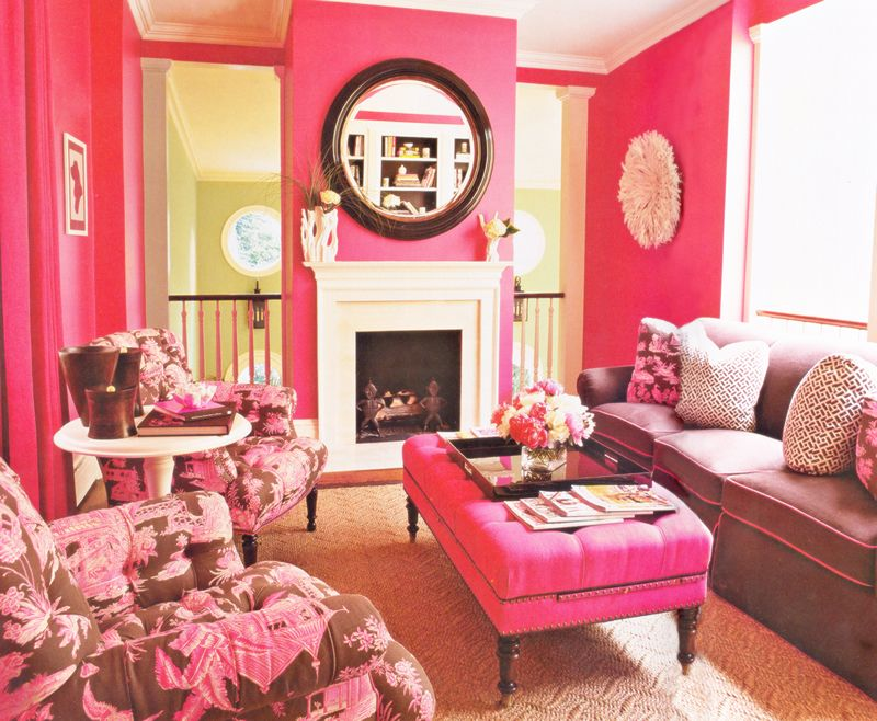 this is what hot pink paint looks like! | JHID Residential ...