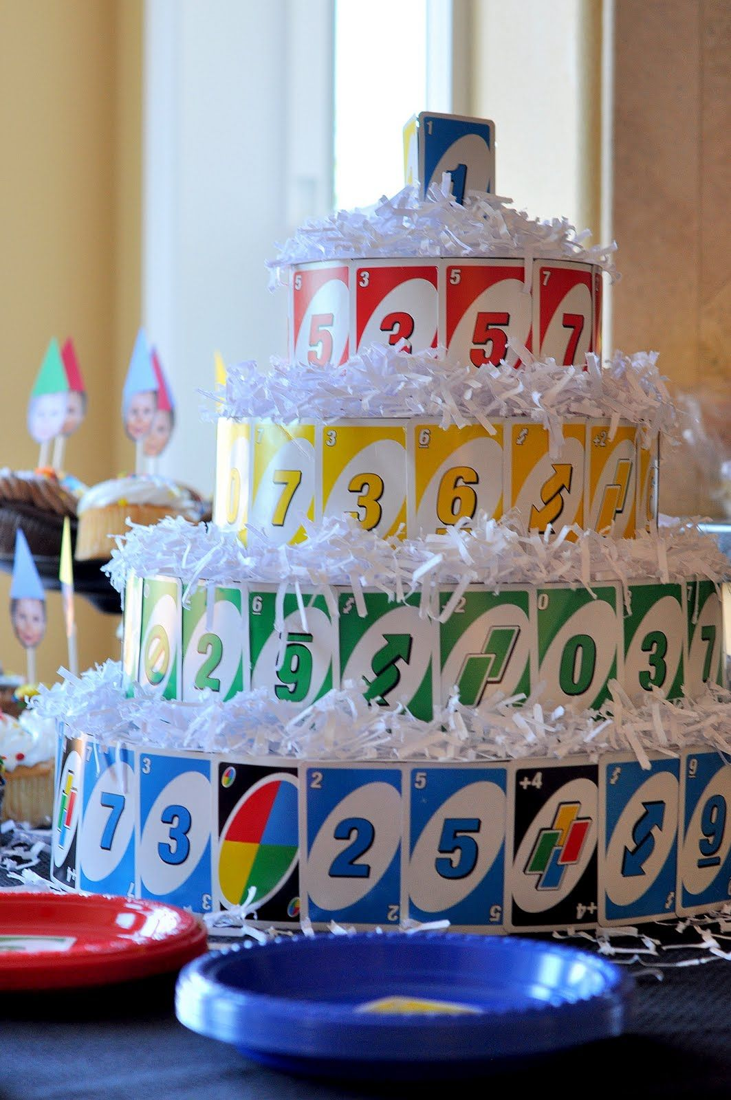 Craftily Ever After Maxs UNO Themed First Birthday Party For Child Turning One
