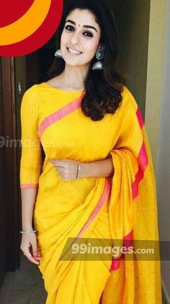 Nayanthara in wedding saree images