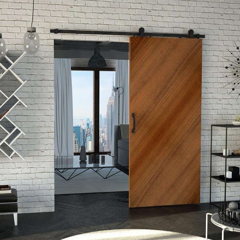 LUNA SET: Heavy duty mechanism for sliding wooden doors …