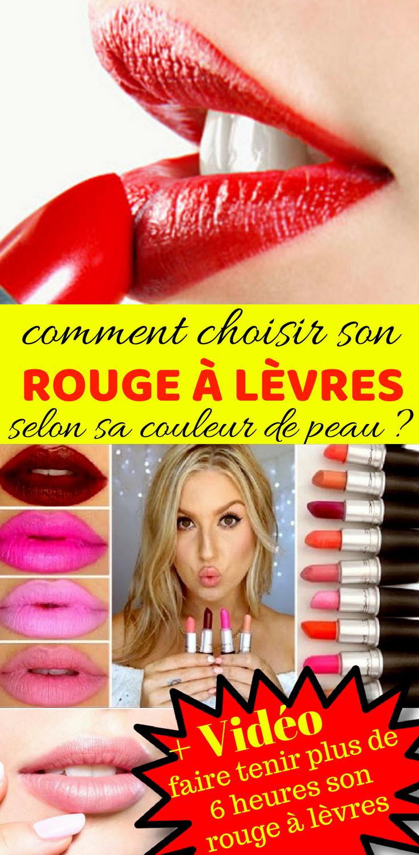 Choisir Son Rouge à Lèvres Faire Tenir Son Rouge à Lèvres