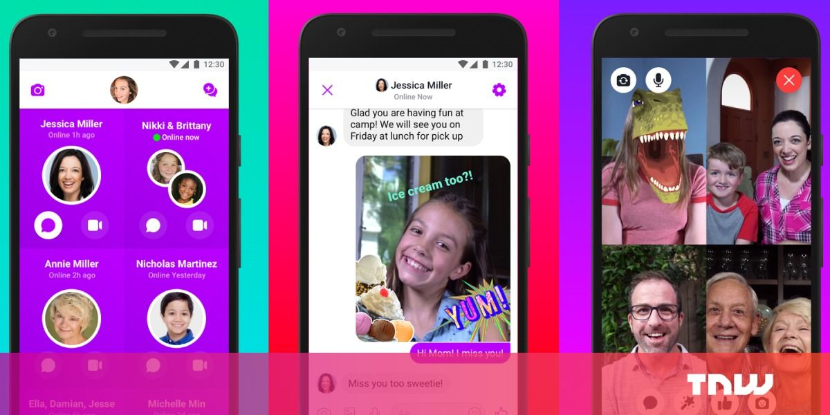 Facebook's Messenger Kids app is now on Android Facebook