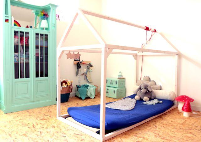 lit maison cabane housebed. Black Bedroom Furniture Sets. Home Design Ideas