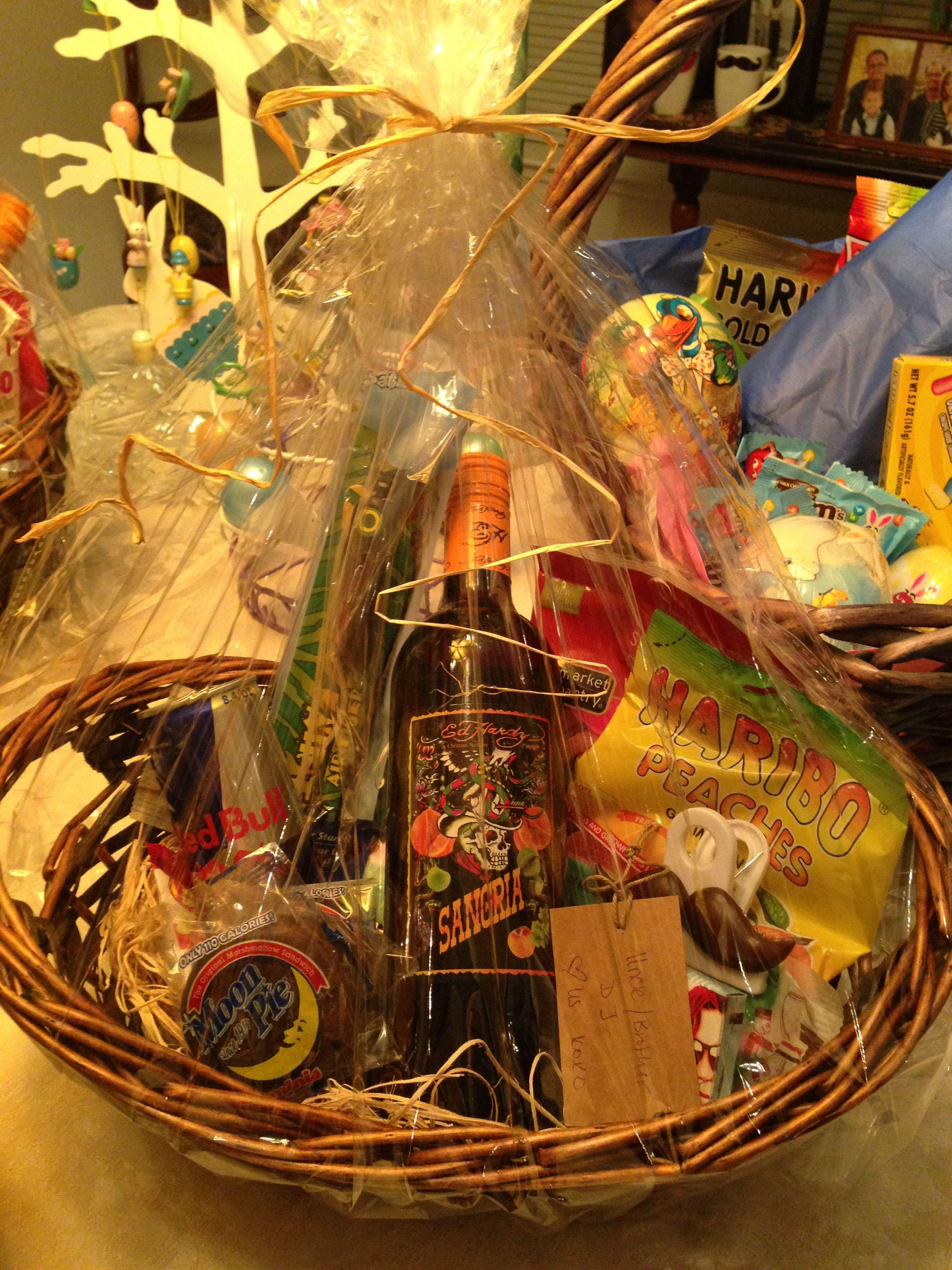 Young adult Easter Basket! | Adult easter baskets, Adult ...