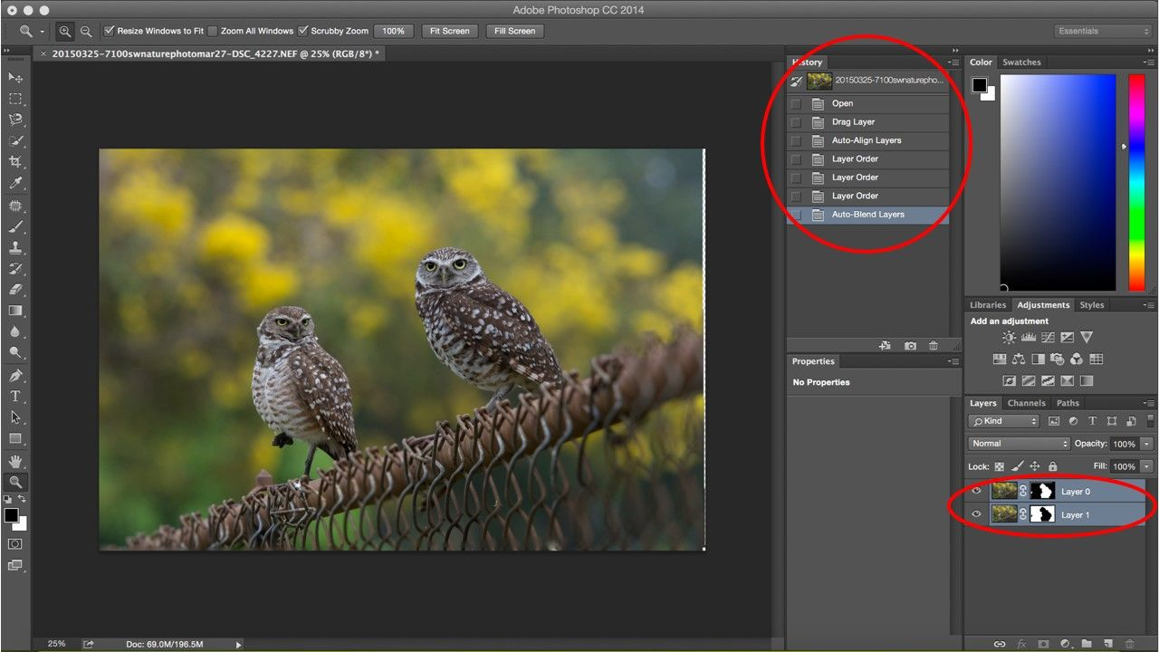 How to combine two images into one in photoshop cs6