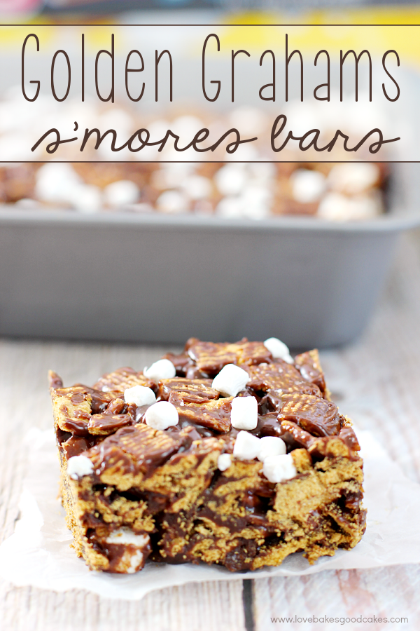 Smores Brownies Recipe Golden Grahams