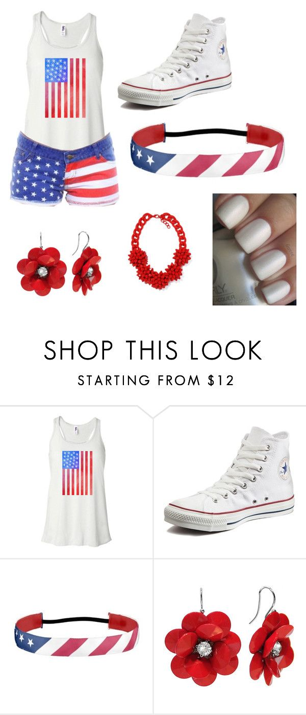 """""""Happy Memorial Day"""" by smartgirlrae on Polyvore featuring Converse"""