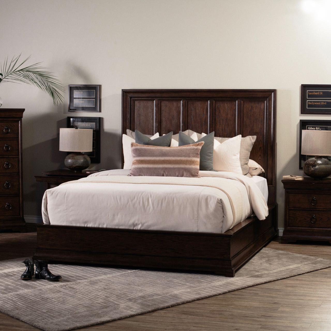 Lindale By Pulaski Brown Panel Bed Panel Bed Bed