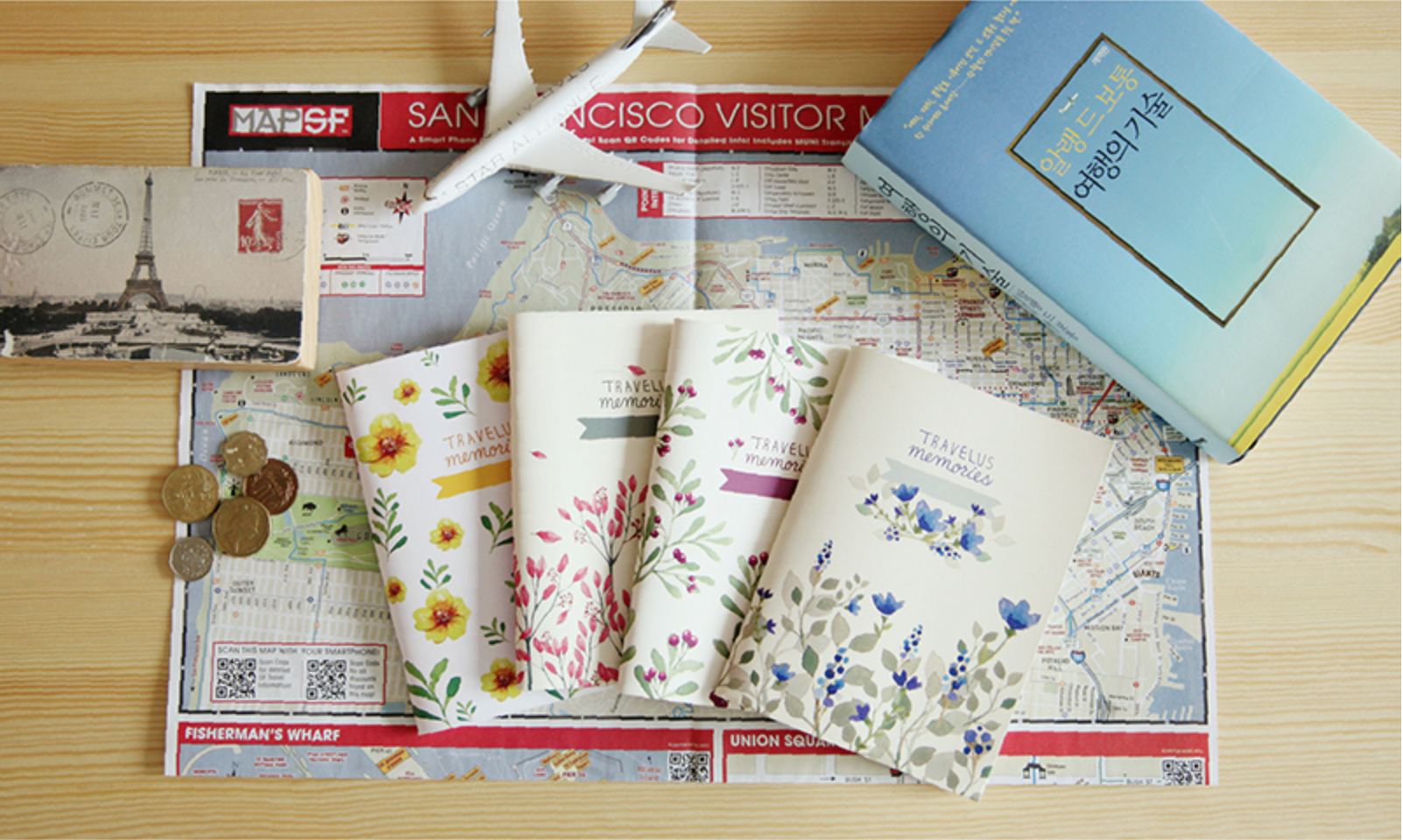 Travel Memory Notebook from mochithingscom only 10 and could be