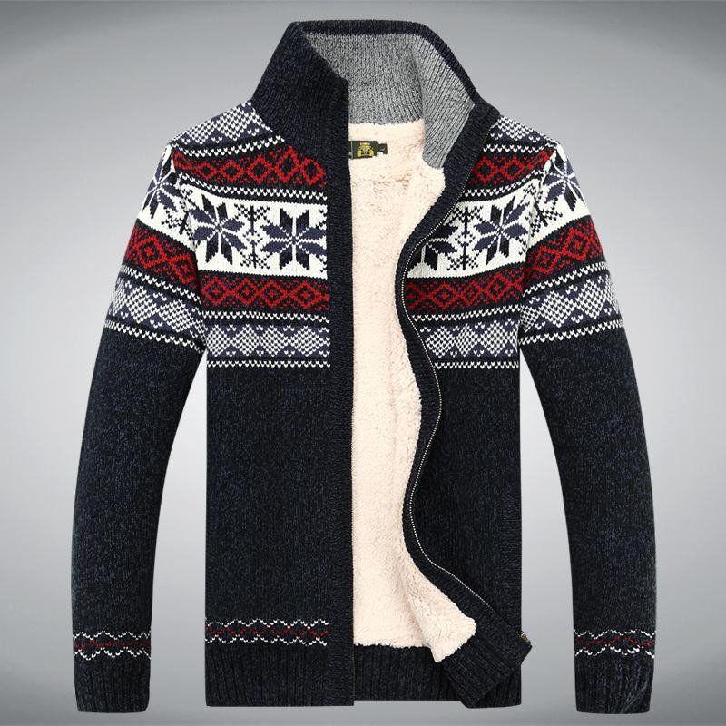 Men's 100% Cotton #Fleece Sweater | Cardigans For Men | Pinterest ...