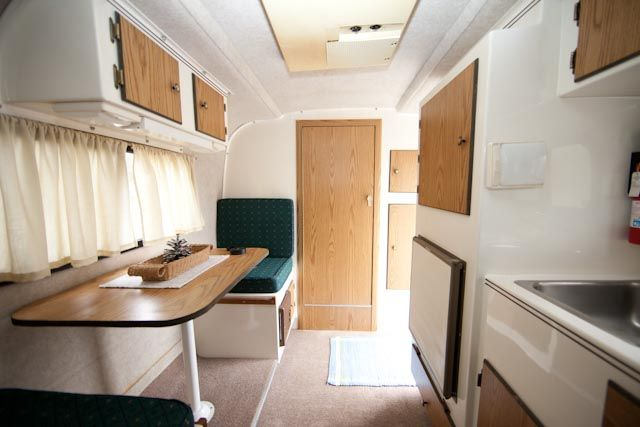 16ft Scamp Interior With Images Tiny House Camper Camper