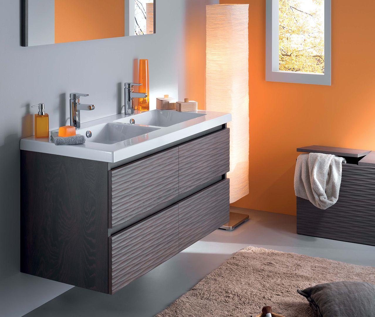 Salle De Bain Atout Kro ~ best salle de bain orange et gris gallery awesome interior home