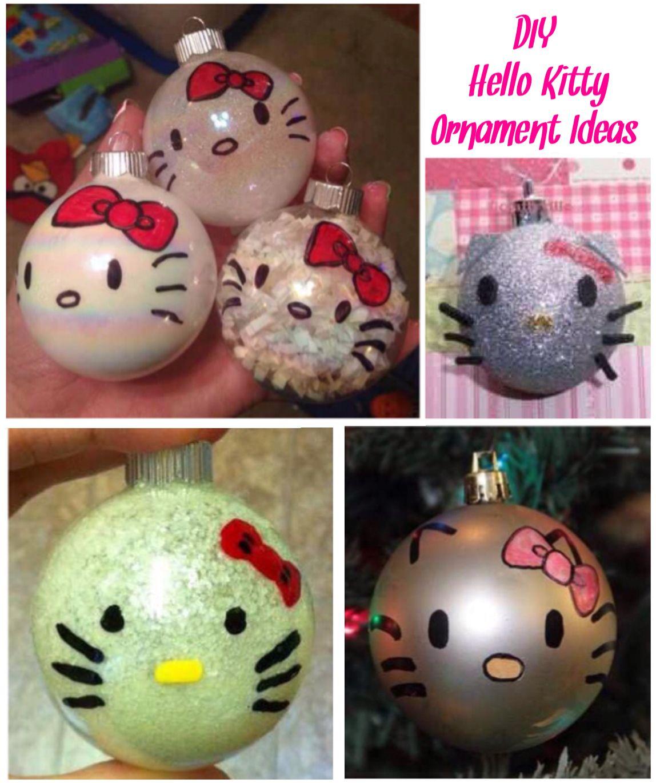 ('DIY Hello Kitty Ornament Ideas...!') Hello kitty