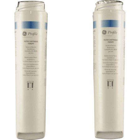 ge water filter pre and post filter set white