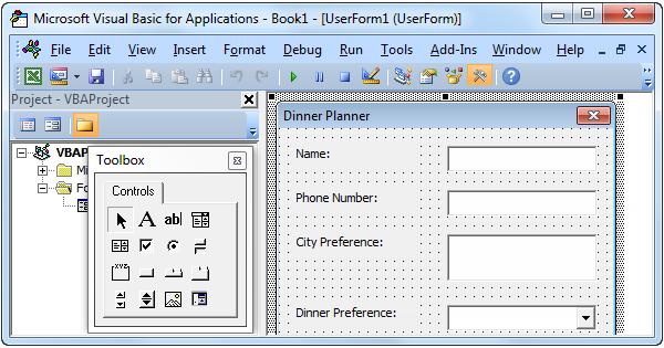 Userform In Excel Vba Excel Shortcuts Excel Macros Excel Tutorials
