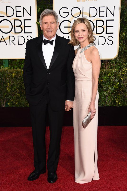 Harrison Ford and Calista Flockhart.