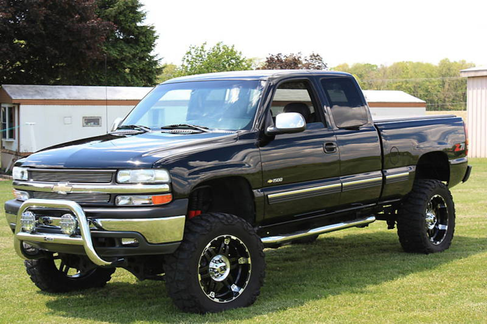 2014 Chevy Silverado Lifted Black With Nice Rims Even Lifted