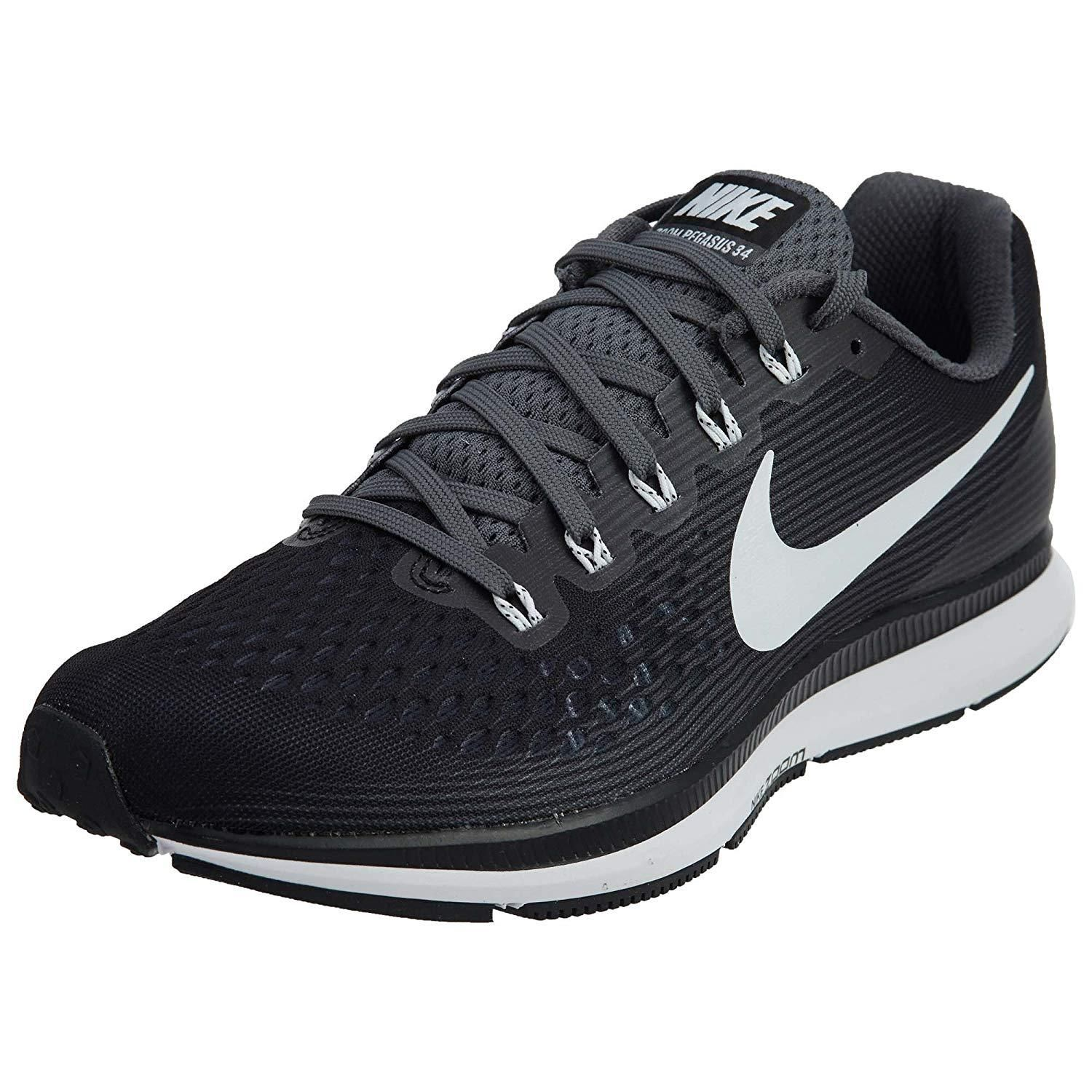 buy popular 4fbba b6bb2 Nike Air Zoom Pegasus 34 TB Turbo Running Shoe, Black/White ...