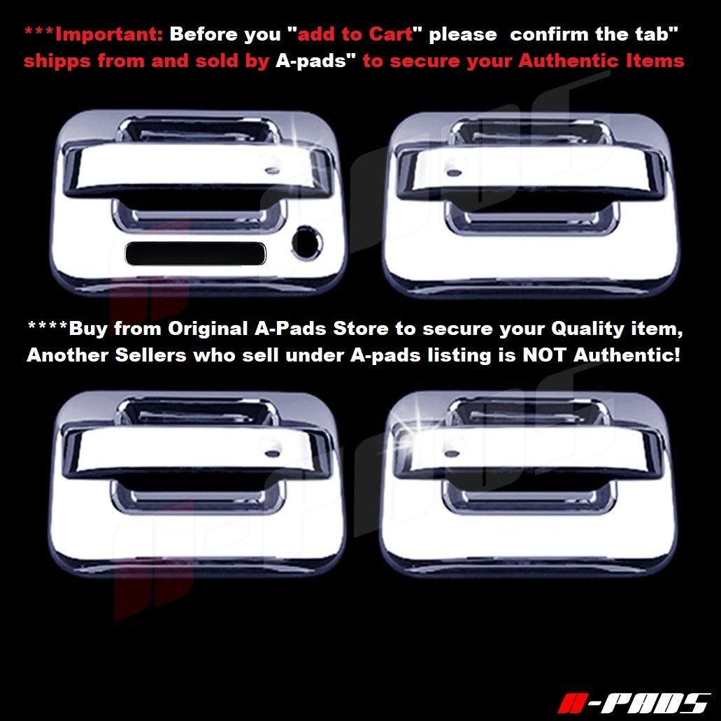 A Pads 4 Chrome Door Handle Covers For Ford F150 Svt Raptor 2004 2014 With Keypad And Without Passe In 2020 Chrome Door Handles Things To Sell Exterior Accessories