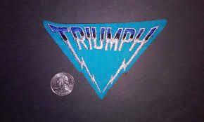 Triumph Band Canada Google Search Triumph Band Vintage Patches Vintage Music