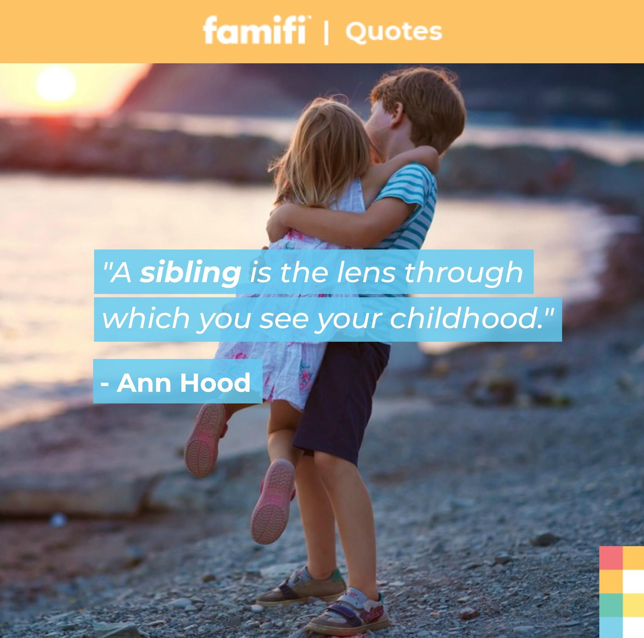 What S Your Favorite Childhood Memory You Have With Your Sibling S Sibling Siblings Brother Sister Brother Brother And Sis Quotes And Notes Image Quotes
