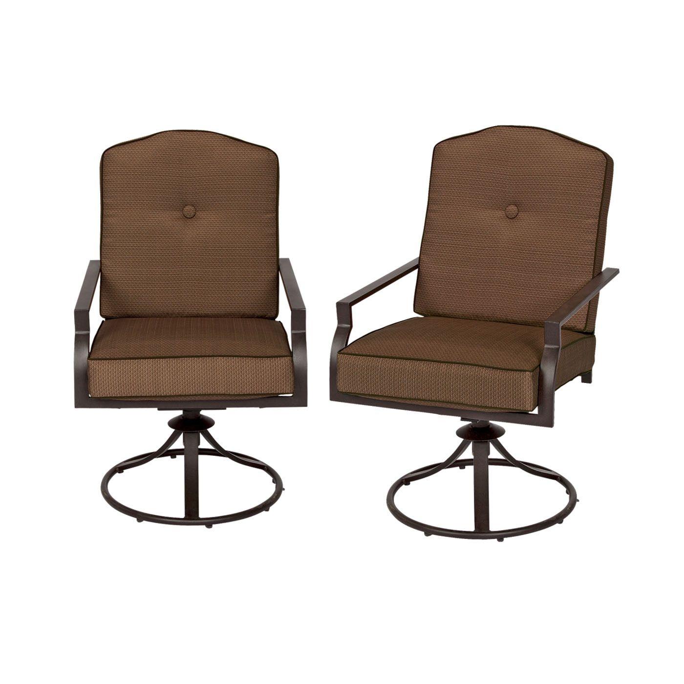 Northcrest Mix And Match York Cushion Swivel Rocker 4pk Shopko Com Patio Cushions Cushions Outdoor Chairs