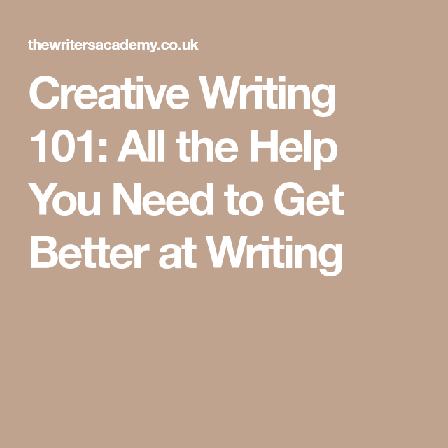 creative writing 101