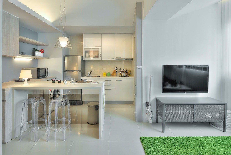 Modern Small Kitchen Design Idea For Your Studio Deco Small