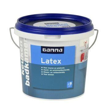 GAMMA latex badkamer en keuken wit 1 liter | Verhuizing | Pinterest