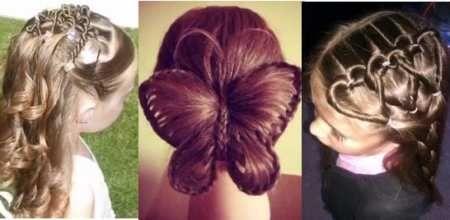 картинки причёски для детей