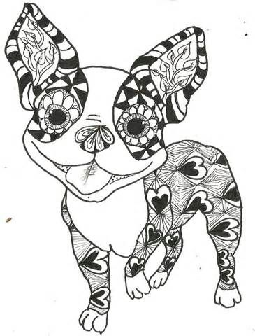 Boston Terrier coloring pages - Search Yahoo Image Search Results ...
