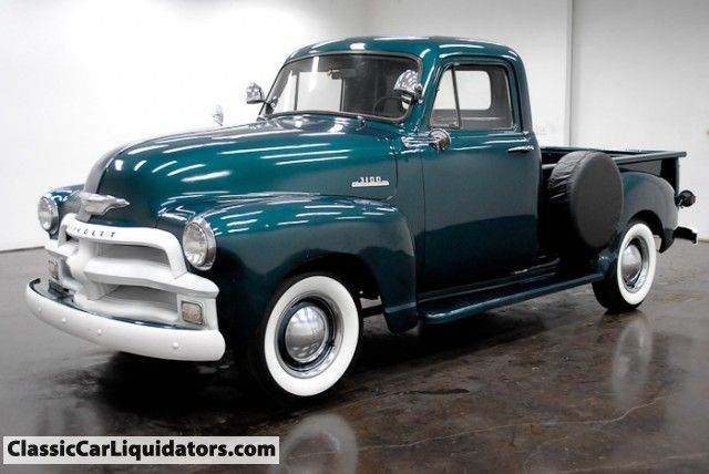 Classic Car Liquidators 1954 Chevrolet 3100 Pickup